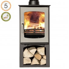 Ecosy +purefire Curve 5kw with stand Grey